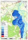 Deichbruch-Szenario L1 Bucher Deich - Ausbreitung nach 24 Stunden