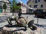 Arneburg - Gänselieselbrunnen