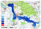 Deichbruch-Szenario R5 Deich bei Havelberg - Ausbreitung nach 72 Stunden