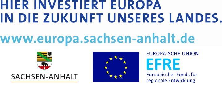 Gefördert vom Land Sachsen-Anhalt und der Europäischen Union
