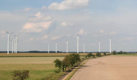 Windkraftanlagen © MILAN Bild Seehausen