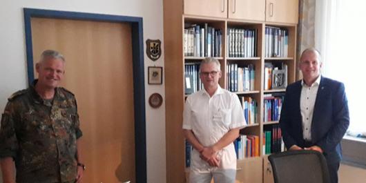 v.l Dr Bruno Most Dr .Andre Benthien Sebastian Stoll ©Nils Wilhelm