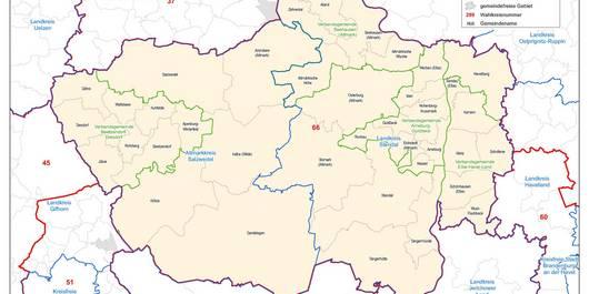Wahlkreis 66-Altmark zur Bundestagswahl 2021