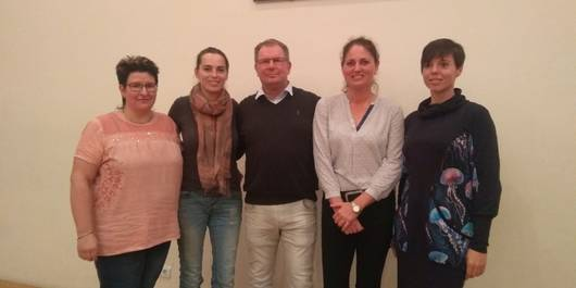 Diana Kahnke, Dorothee Schulz, Ralf Ziegler, Antje Netzband und Juliane Becker