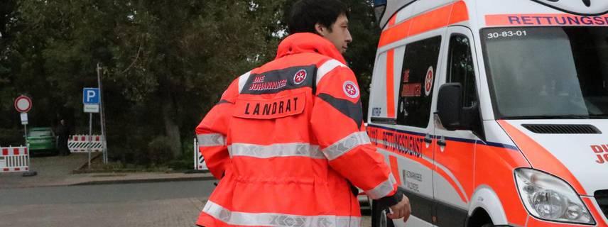 Landrat im Rettungsdienst