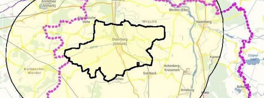 ©Bundesamt für Kartographie und Geodäsie (2021), Datenquellen: http://sg.geodatenzentrum.de/web_public/Datenquellen_TopPlus_Open_10.01.2021.pdf, GeoBasis-DE / LVermGeo LSA, 2020, G01-5010835-2014-5 Es gelten die Nutzungsbedingungen des LVermGeo LSA