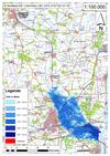 Deichbruch-Szenario L2 Hämertscher Deich - Ausbreitung nach 48 Stunden