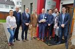 Landrat Friedhelm Spieker (4.v.l.) begrüßt die Altmärker Delegation zum Erfahrungsaustausch in Höxter