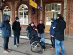 Der Behindertenbeirat erkundete den Öffentlichen Personennahverkehr
