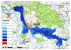 Deichbruch-Szenario R5 Deich bei Havelberg - Ausbreitung nach 96 Stunden