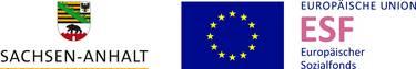 Gefördert durch die EU und Sachsen-Anhalt