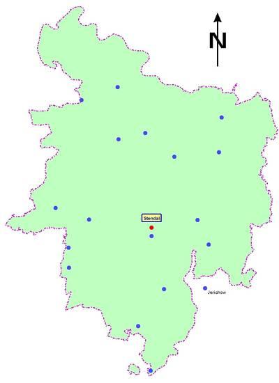 Mitglieder der Psychosozialen Arbeitsgemeinschaft [(c): Landkreis Stendal, Gesundheitsamt]