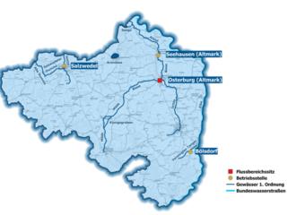 Flussbereich Osterburg c LHW © c LHW