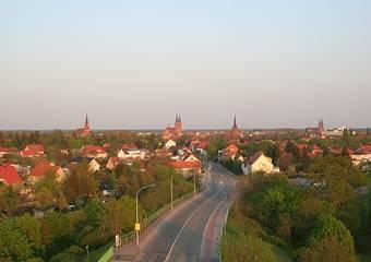 stendal   skyline von uenglinger bruecke