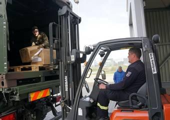 lieferung schutzausrüstung ftz 15 © Pressestelle LK Stendal