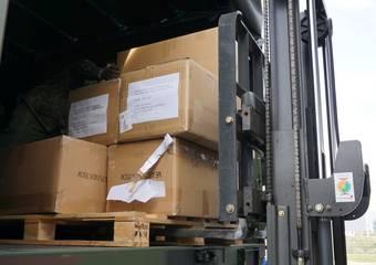 lieferung schutzausrüstung ftz 17 © Pressestelle LK Stendal