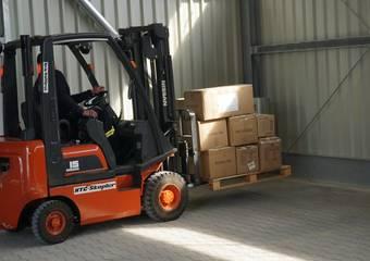 lieferung schutzausrüstung ftz 19 © Pressestelle LK Stendal