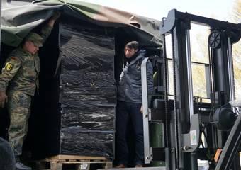lieferung schutzausrüstung ftz 28 © Pressestelle LK Stendal