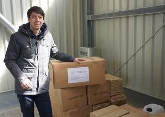 lieferung schutzausrüstung ftz 33 © Pressestelle LK Stendal