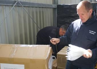 lieferung schutzausrüstung ftz 37 © Pressestelle LK Stendal