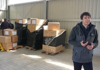 lieferung schutzausrüstung ftz 41 © Pressestelle LK Stendal
