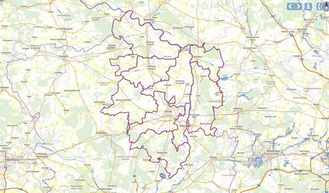 Geodaten des Landkreises Stendal © Sabrina Lamcha