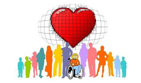 Gleichstellung & Menschen mit Behinderung © Bild von Gerd Altmann auf Pixabay