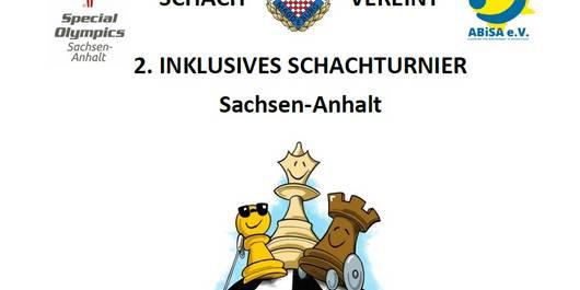 gezeichnete Schachfiguren mit Behinderung