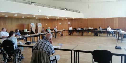 Sitzung im Landratsamt