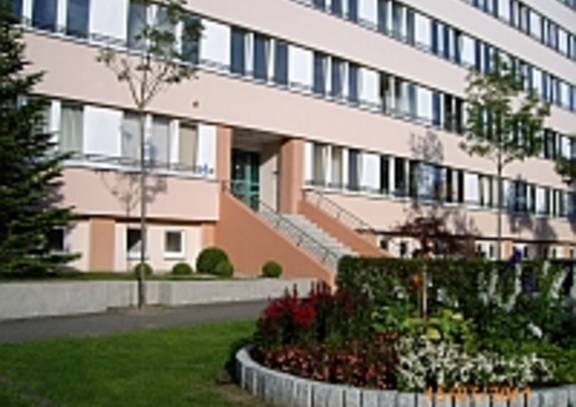 Wohnheim Eingang ©brain SCC