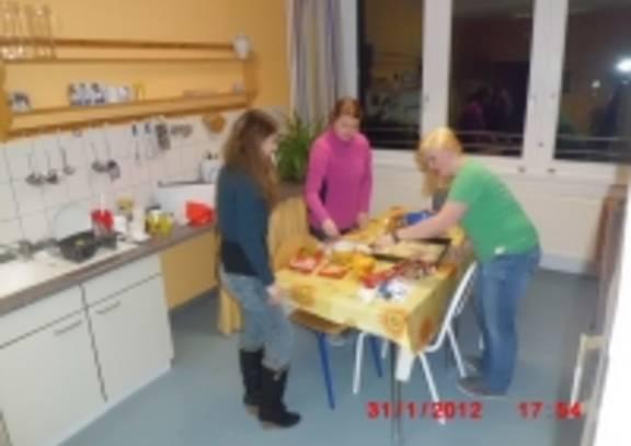 Wohnheim Küche ©brain SCC