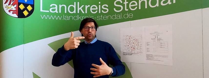 Gebärdensprache ©Foto: Örtliches Teilhabemanagement im Landkreis Stendal