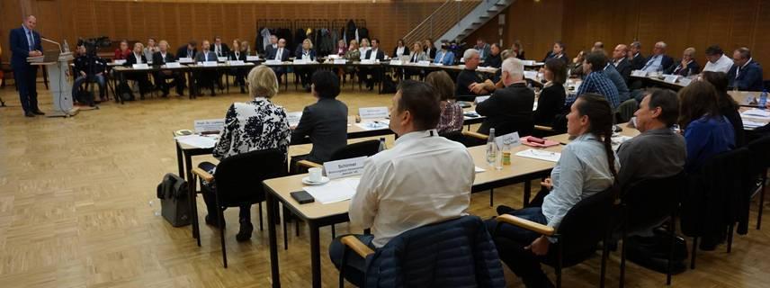 Plenum des Demografiedialoges ©Pressestelle LK Stendal
